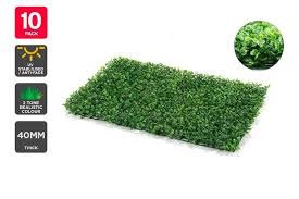 Dick Smith Nz Certa Garden Wall Artificial Boxwood Hedge Mat 10 Pack Home Decor
