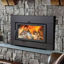 what are the types of fireplace inserts