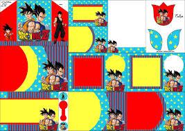 Dragon Ball Z Invitaciones Para Imprimir Gratis Oh My Fiesta