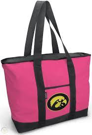 iowa hawkeyes pink tote bag cute bags