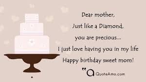 happy birthday mother quotes and sayings quote amo