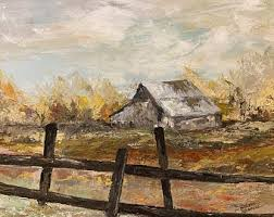 Old Fence Wall Art Etsy