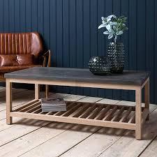 belfort industrial coffee table