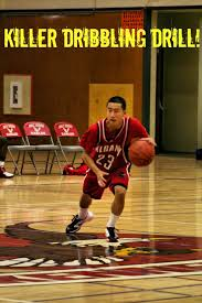 basketball dribbling check out this