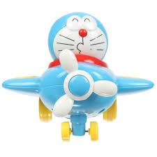 Đồ chơi chạy đà Doremon lái máy bay CY.558-11 - Kids Plaza
