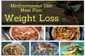 Mediterranean Diet Meal Plan: Weight Loss - Mediterranean ...
