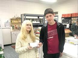Jasper student accepts food donation challenge | News Break