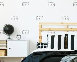 Cat Wall Decals Kids Wall Decal Nursery Decal Vinyl Decal Cat Wall Art Nursery Decor Cat Decor