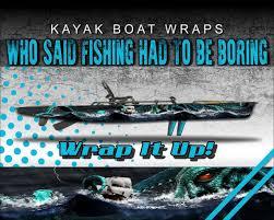 Kraken Pirate Ship Kayak Vinyl Wrap Kit Graphic Decal Sticker Etsy