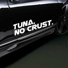 Tuna No Crust Car Sport Racing Body Stripes Stickers Vinyl Decals Buy At A Low Prices On Joom E Commerce Platform