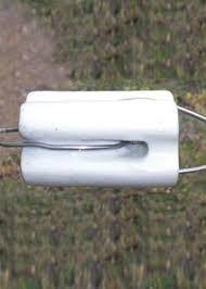 Gallagher Porcelain Bullnose Insulator G692304 Electric Fence Wire Gallagher Electric Fencing From Valley Farm Supply