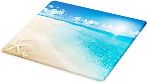 ambesonne beach cutting board