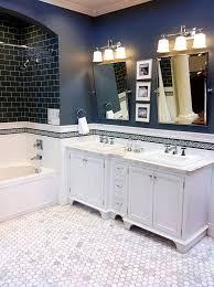 dark blue bathroom wall tiles ideas and