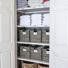 linen closet organization how to