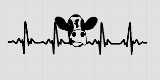 Cow Decal Holstein Cow Lover Gift Life On The Farm Farm Etsy Cow Tattoo Cow Laptop Decal