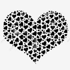قلوب سوداء قلوب سوداء أسود قلوب Png وملف Psd للتحميل مجانا
