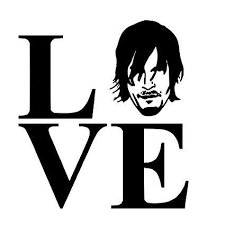 Love Daryl Walking Dead Vinyl Car Laptop Window Wall Decal Mymonkeysticker Com