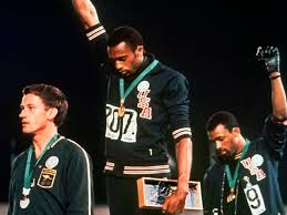Black Power salute photo: Tommie Smith and John Carlos raised ...