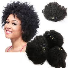 3pcs lot mogolian afro curly hair