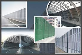 Highway Noise Barrier Security Fence System Expanded Metal Fence Welded Mesh Panels
