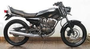Gambar Modifikasi Motor Rx King Hitam