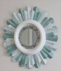 diy awesome beaded sunshine mirror