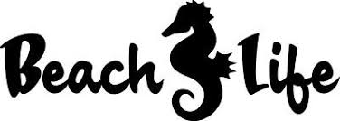 Beach Life Seahorse Decal Window Bumper Sticker Car Ocean Fish Beaches Sea Horse 3 50 Picclick