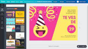 Crea Tarjetas De Cumpleanos Chistosas Online Gratis Canva