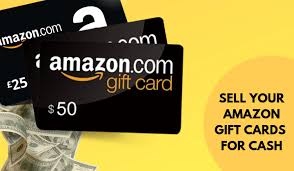 to sell amazon gift cards for cash