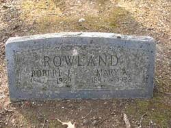 Mary Adeline Mitchell Rowland (1847-1922) - Find A Grave Memorial