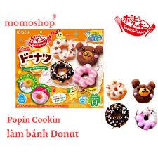 Popin Cookin Làm Bánh Donut - Đồ chơi nấu ăn Nhật Bản - Hàng Nhật ...