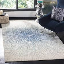 blue and white area rugs com