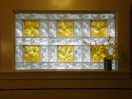 glass block bathroom window frosted