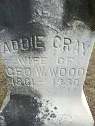 Addie Gray Wood (1861-1930) - Find A Grave Memorial