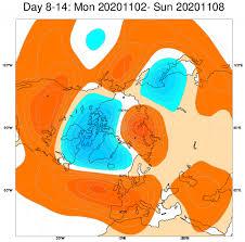 Tendenza METEO: ecco la possibile evoluzione nel mese di novembre « 3B Meteo