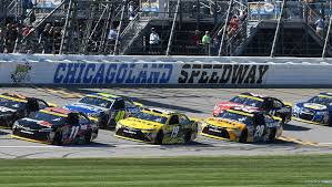 nascar cup race at chicagoland sdway