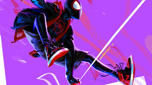 spider man into the spider verse 4k