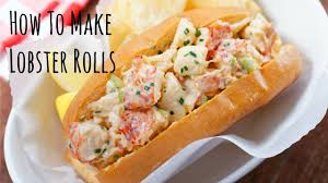 How To Make Lobster Rolls (Recipe) ロブ ...