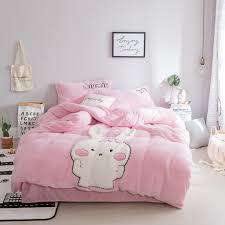 velvet bedding set queen twin bed