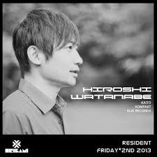 RA: Origami Resident DJ / Hiroshi Watanabe at Origami, Tokyo (2013)