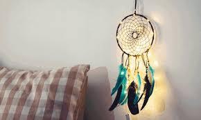 dreamcatcher light up wall decor