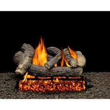 ling fire gas log set vented