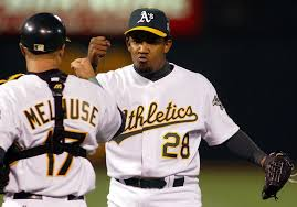 """Octavio Dotel on A's Edwin Jackson tying his record: """"I want to be by  myself!"""" - SFChronicle.com"""
