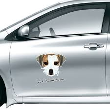 Jack Russell Terrier Dog Pet Animal Car Sticker On Car Styling Decal Motorcycle Stickers For Car Accessories Gift Diythinker