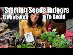 seeds indoors for your spring garden