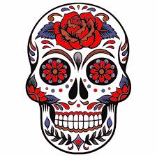 Sugar Skull Rose Sticker U S Custom Stickers