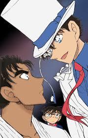Detective Conan 2019' tung poster: Kaito Kid 'cưa cẩm' Ran, Makoto ...