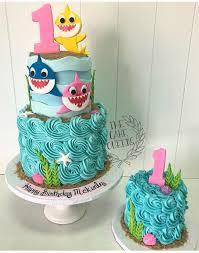 baby shark birthday cake google