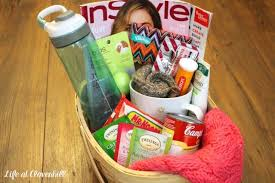 diy get well soon gift basket for