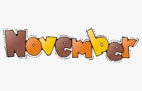 Image result for november month images clipart